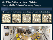 Tablet Preview of georgiahistoryteacher.org
